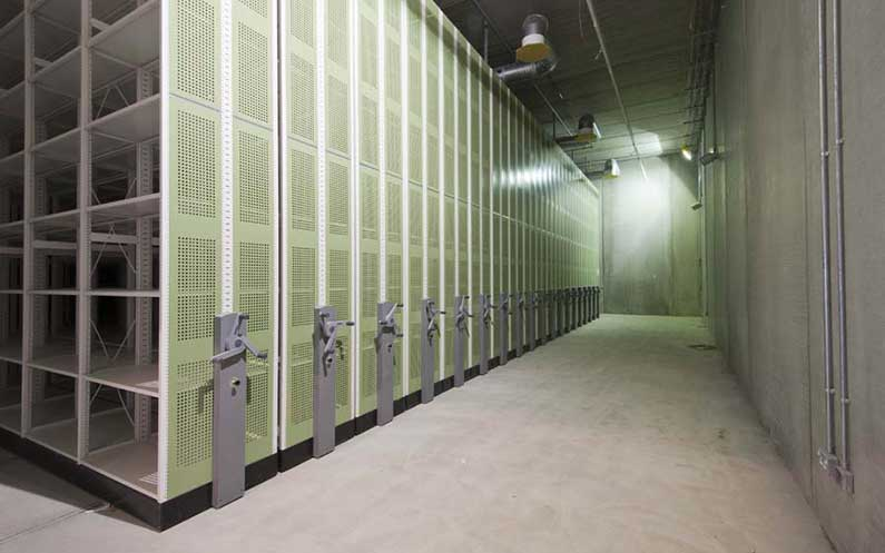 Nucleus National Nuclear Archive - Compactus® Original XTR - Bruynzeel Storage Systems