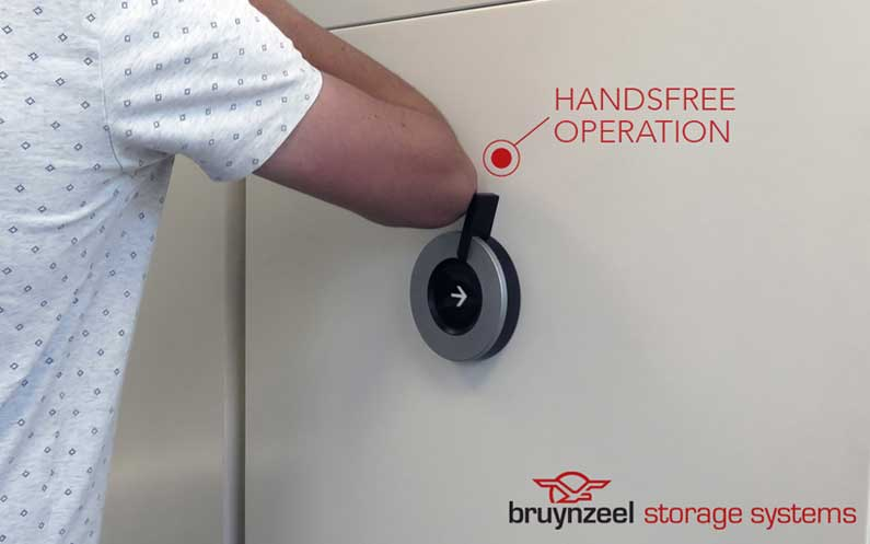 Handsfree-operation Bruynzeel Storage Systems